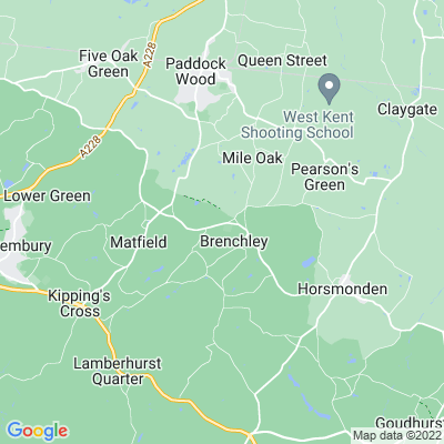 Brenchley Manor, Brenchley Location