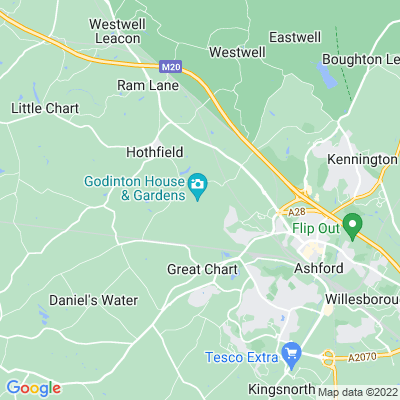 Godinton Park Location