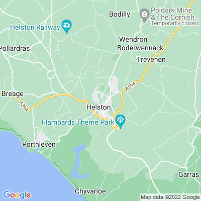 Lismore, Helston Location