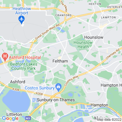 Feltham Green Location