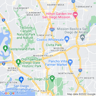 Crane Valley Park Location