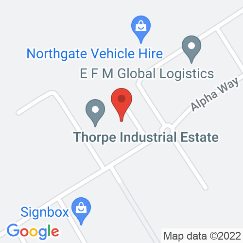 Google Map of Henley Shipping