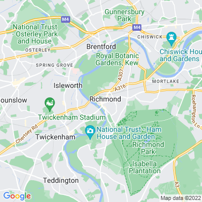 Richmond Green and Little Green Location