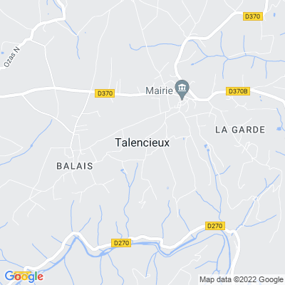 bed and breakfast Talencieux