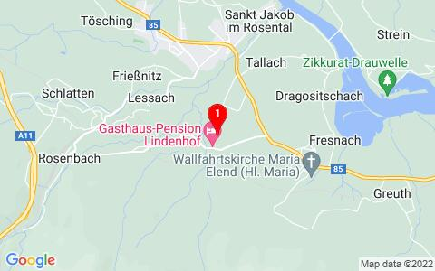 Google Map of Tallach 34,  9182 Sankt Jakob im Rosental