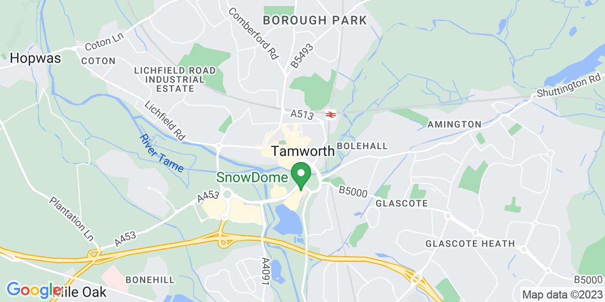 Map: Customer Support Advisor  role in Tamworth