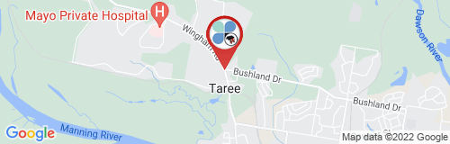 Taree google map