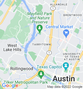 Tarrytown TX Map