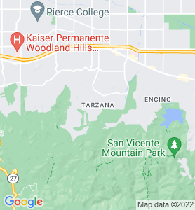Tarzana CA Map