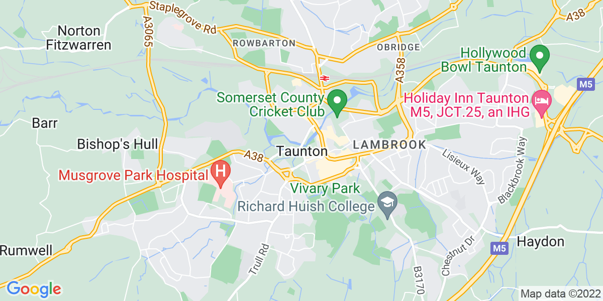 Map: IT Senior Buyer position in Taunton