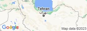Tehrān map