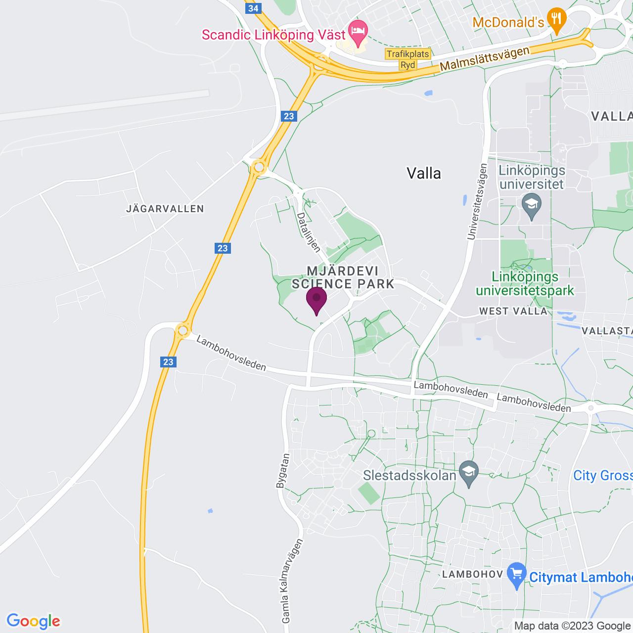 Map of Teknikringen 20