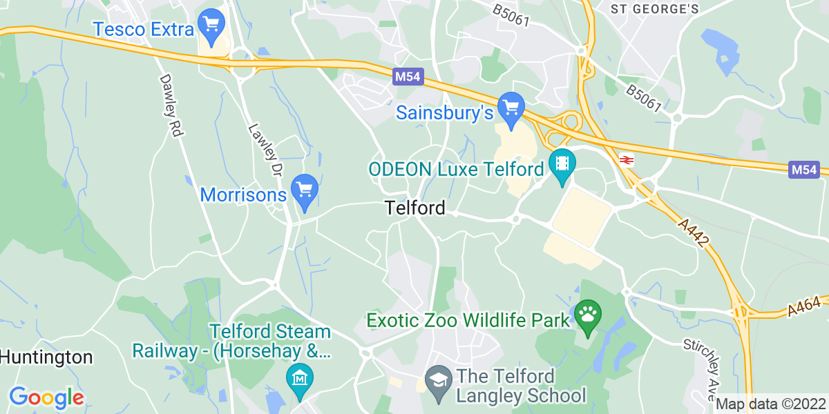 Map: Property Manager job role in Telford