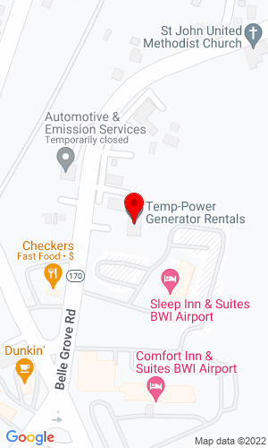 Google Map of Temp Power Inc. 12269 Livingston Road, Haymarket, VA, 20109