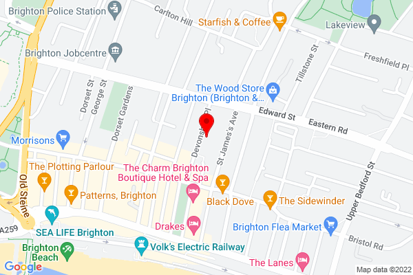 Google Map of Ten10 Brighton