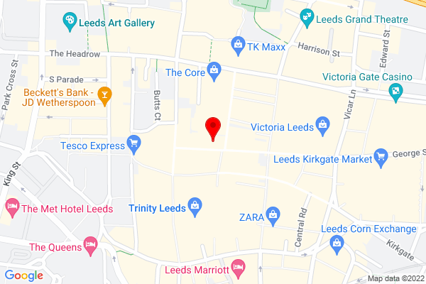 Google Map of Ten10 Leeds