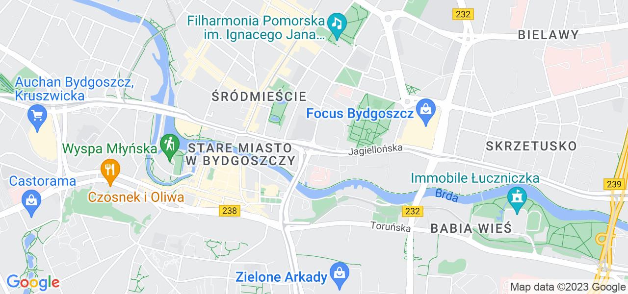 Osiedle Terenów Nadwiślańskich w Bydgoszczy – w tych punktach ekspresowo wyślesz turbinę do autoryzowanego serwisu