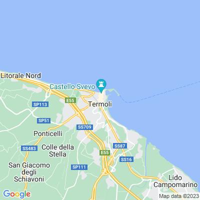 cartina Termoli