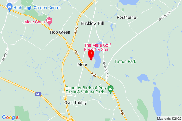The Mere Golf Resort & Spa, Chester Road, Mere, Knutsford, Cheshire, Manchester, United Kingdom, WA16 6LJ,UK