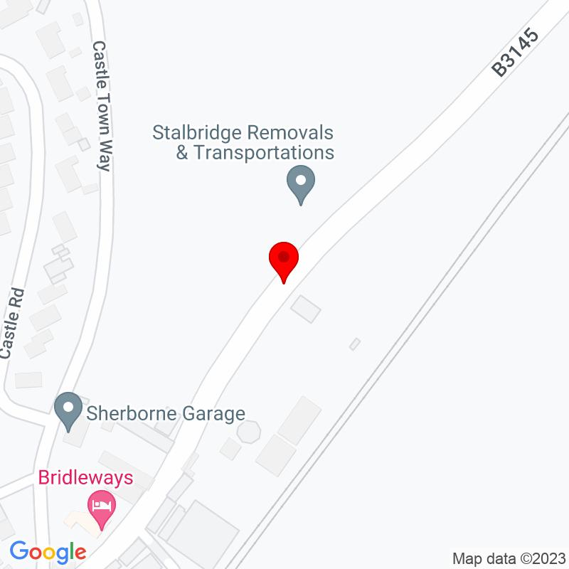 Google Map of The Grange Hotel, Oborne, Sherborne