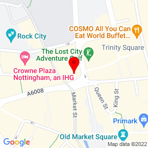 Static Map for Theatre Royal Dress Circle