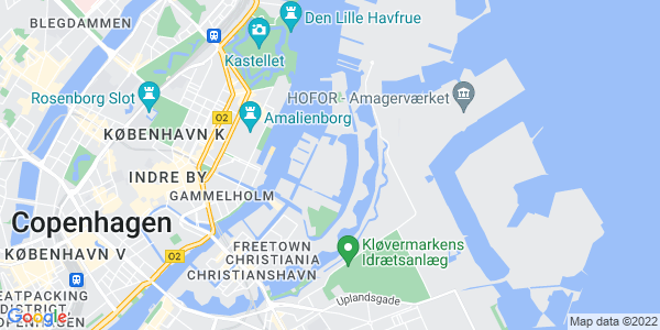 Et kort over Den Danske Filmskole