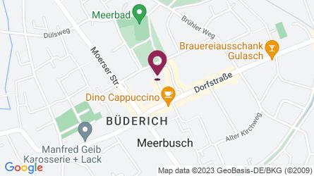 Google Map of Theodor-Hellmich-Straße 8, 40667 Meerbusch