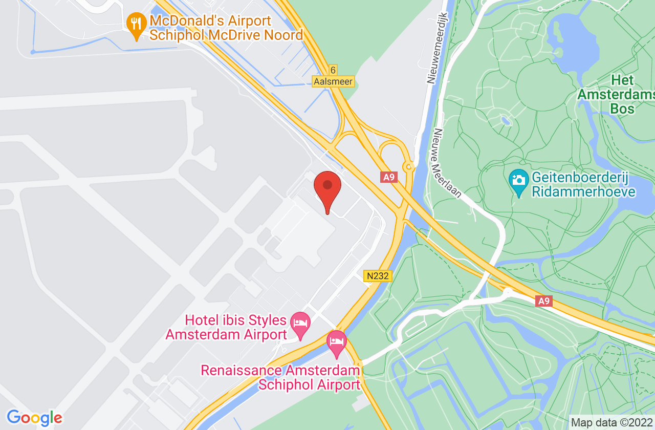 Executive Centre Schiphol on Google Maps