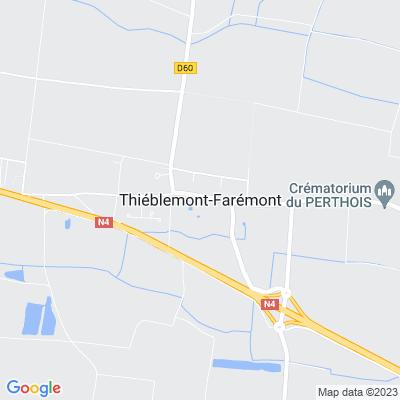 bed and breakfast Thiéblemont-Farémont