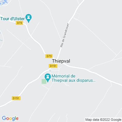 bed and breakfast Thiepval