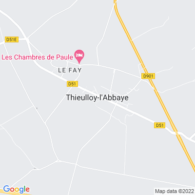 bed and breakfast Thieulloy-l'Abbaye