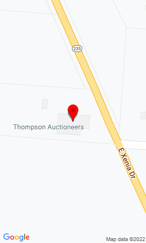 Google Map of Thompson Auctioneers 3519 State Route 235, Fairborn, OH, 45324
