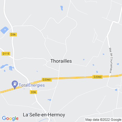 bed and breakfast Thorailles