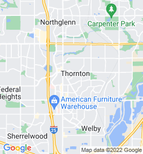 Thornton CO Map