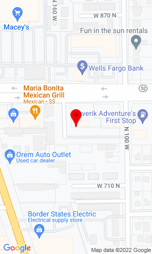 Google Map of Timp Rental Center, Inc. 155 West 800 North, Orem, UT, 84057