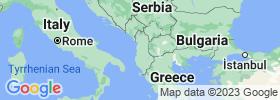 Tiranë map