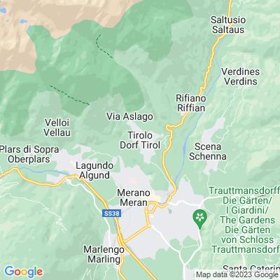 cartina Tirolo-tirol
