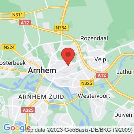 Google map of De Grote Enk, Arnhem