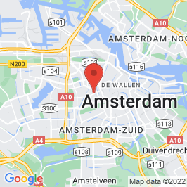 Google map of Tramremise de Hallen, Amsterdam