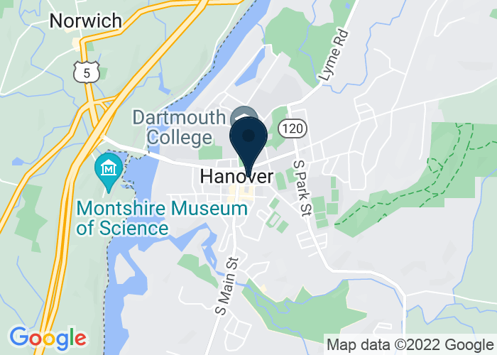 Map of Top of the HOP, Hanover, NH, United States