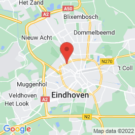 Google map of Strijp S, Eindhoven
