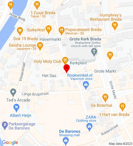 Google Map of Torenstraat 11 4811 XV Breda