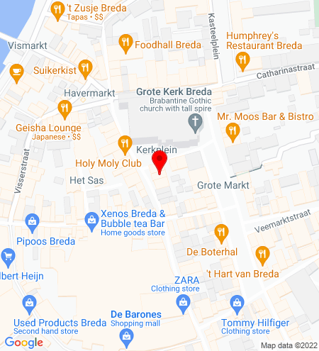 Google Map of Torenstraat 16 4811 XX Breda