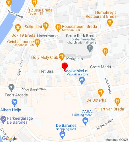 Google Map of Torenstraat 9 4811 XV Breda
