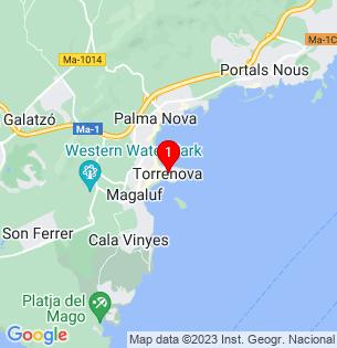 Google Map of Torrenova, Baleares, Spain