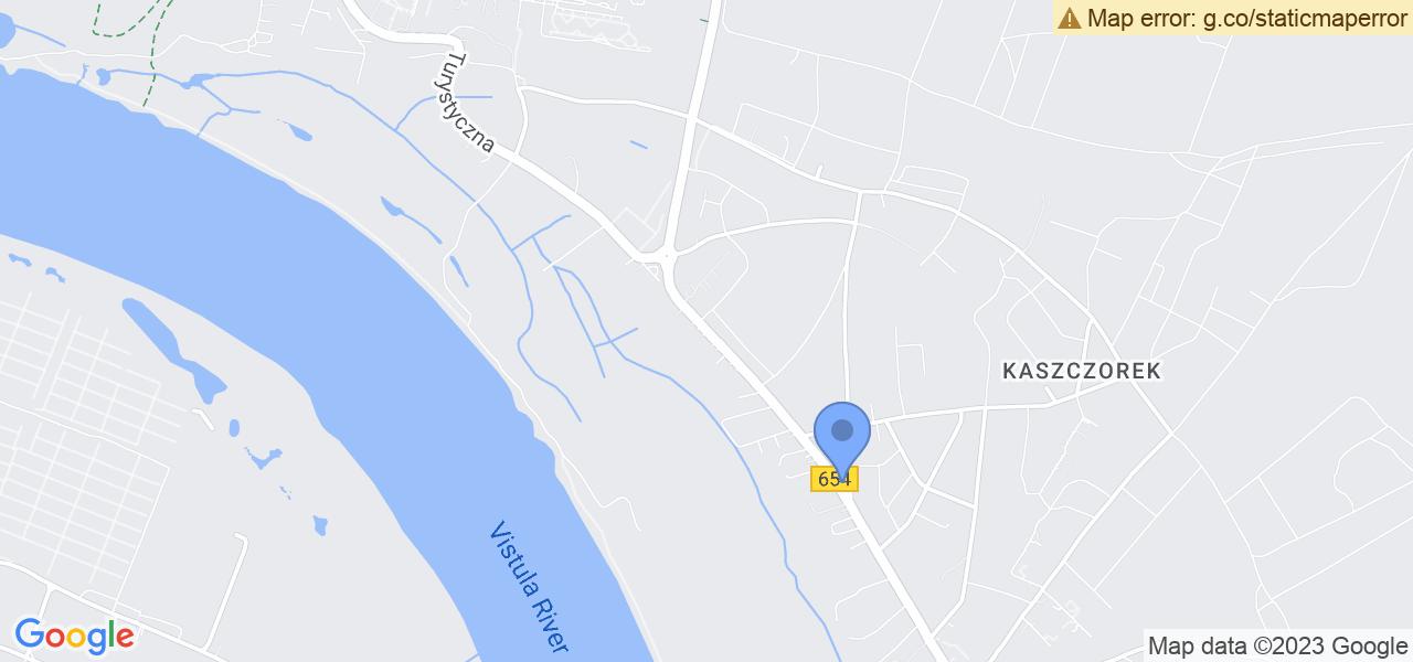 Jedna z ulic w Toruniu – Turystyczna i mapa dostępnych punktów wysyłki uszkodzonej turbiny do autoryzowanego serwisu regeneracji