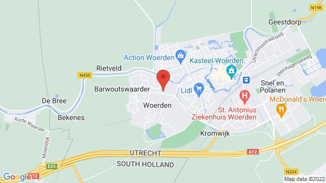 Hans+Jongerius+Woerden op Google Maps