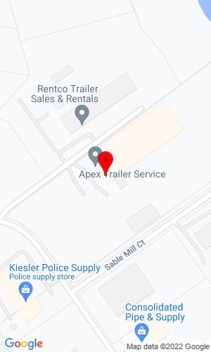 Google Map of Tow Zone Trailer & Equipment Sales 2807 Sable Mill Lane, Jeffersonville, IN, 47130