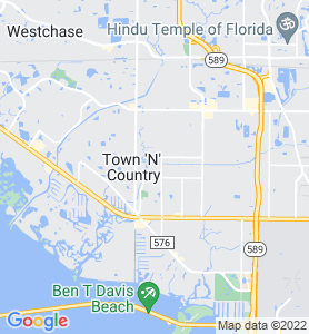 Town N Country FL Map