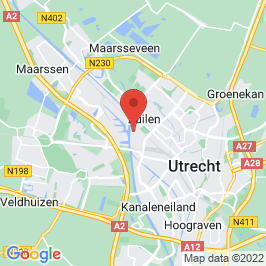 Google map of Werkspoorkathedraal, Utrecht